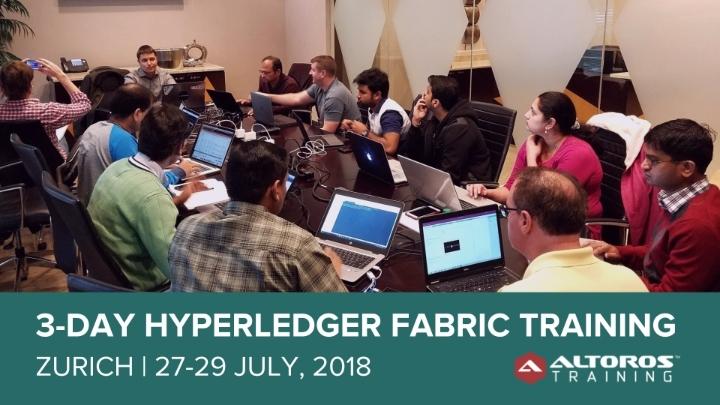 3-day Hyperledger Fabric Training - Zurich