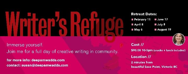 Writers' Refuge - day-long writing workshop