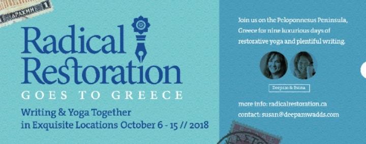 Yoga and Writing Retreat in Greece