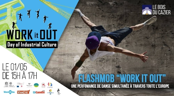 "Flashmob ""Work it Out"" au Bois du Cazier"