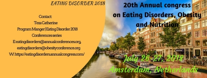 20th Annual congress on  Eating Disorders, Ob