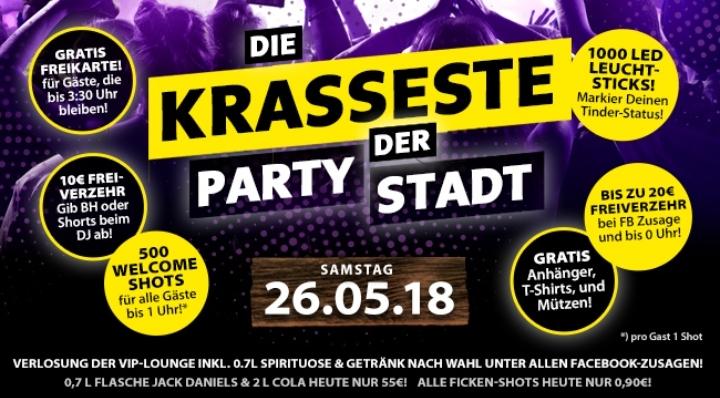 Die krasseste Party der Stadt