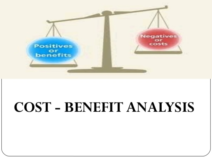 Cost-Benefit Analysis Using Microsoft Excel