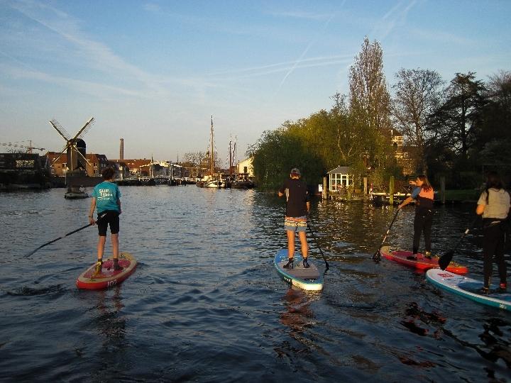 Wednesday Night SUP Leiden 25 april 2018
