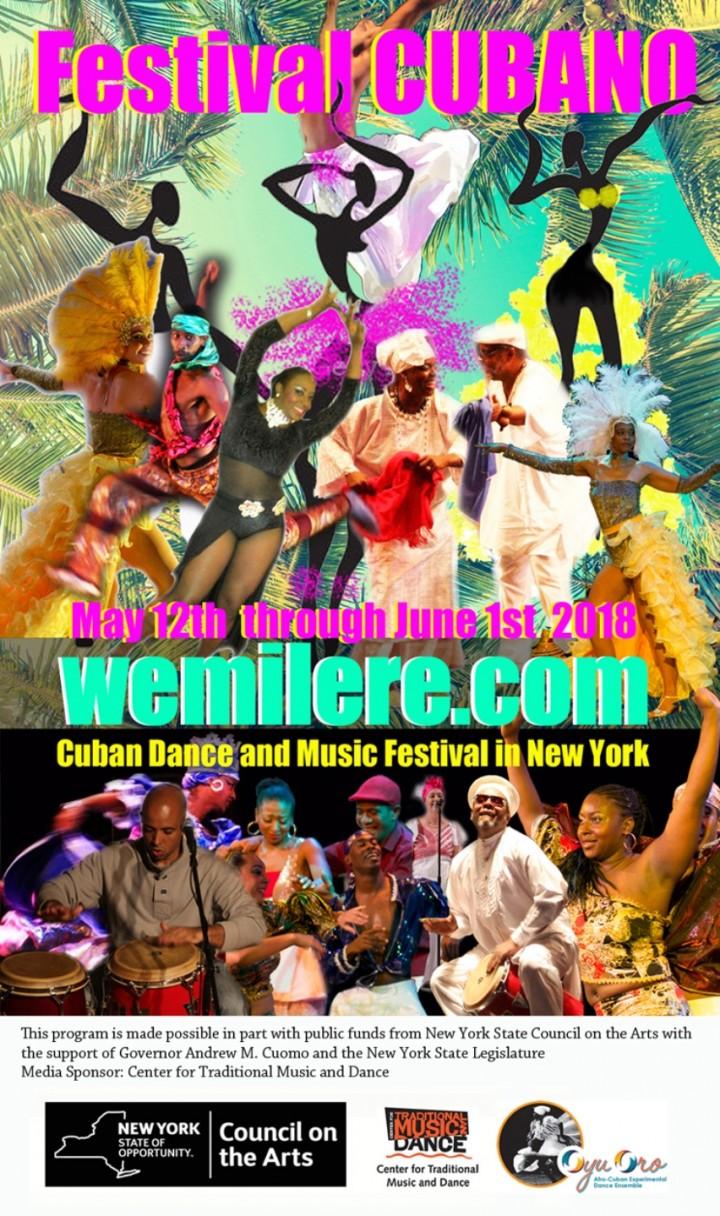 Wemilere.com CUBAN DANCE AND MUSIC FESTIVAL -