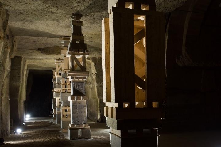 Inauguration de la nouvelle œuvre de Séverine