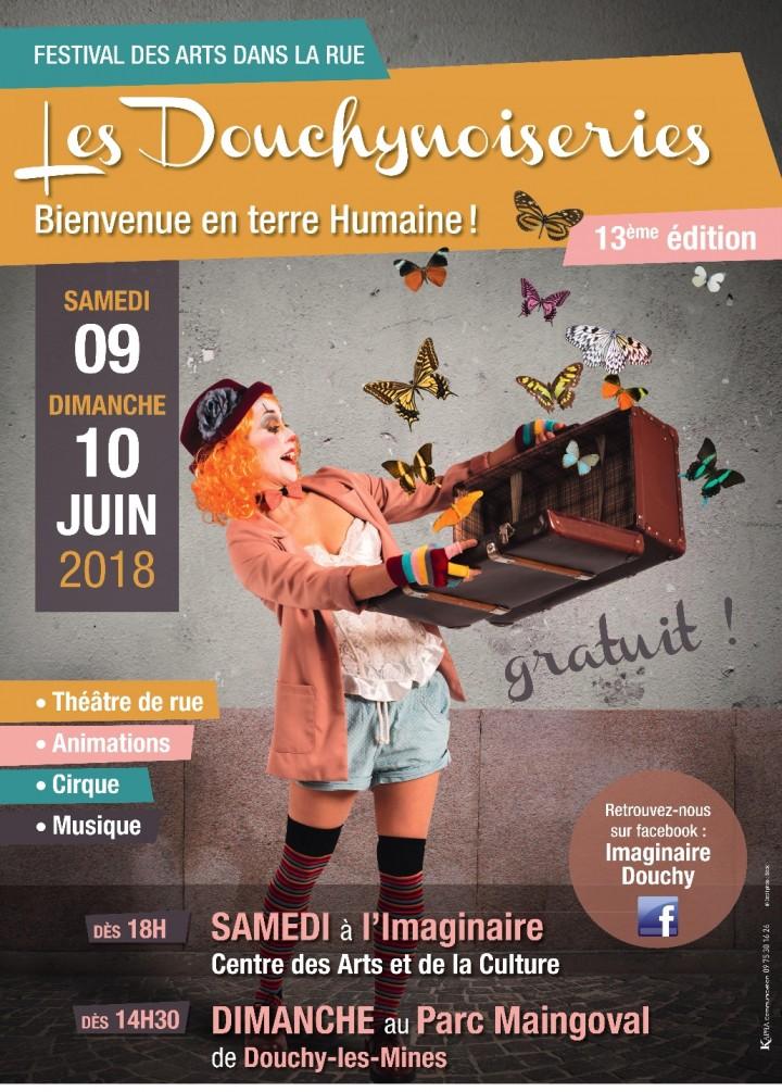 """Festival des arts dans la rue """"les Douchynois"""