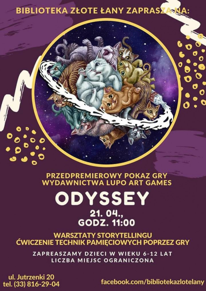 ODYSSEY - przedpremierowy pokaz gry planszowe