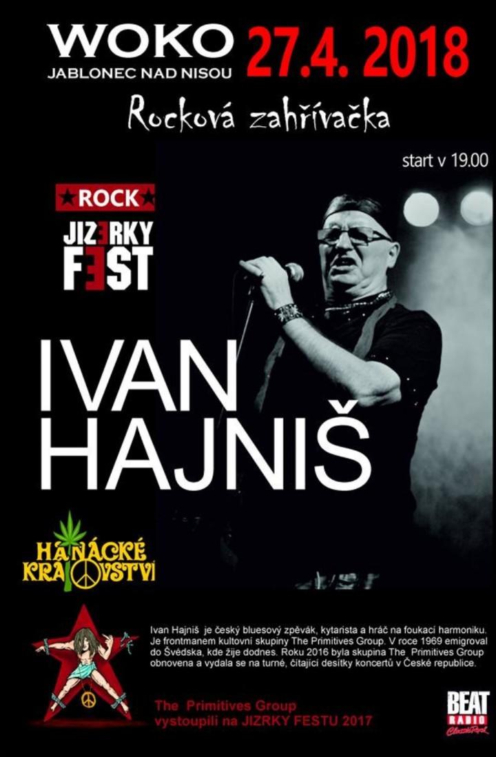 Ivan Hajniš 27.4.2018 START 19.00 Jizerky fes