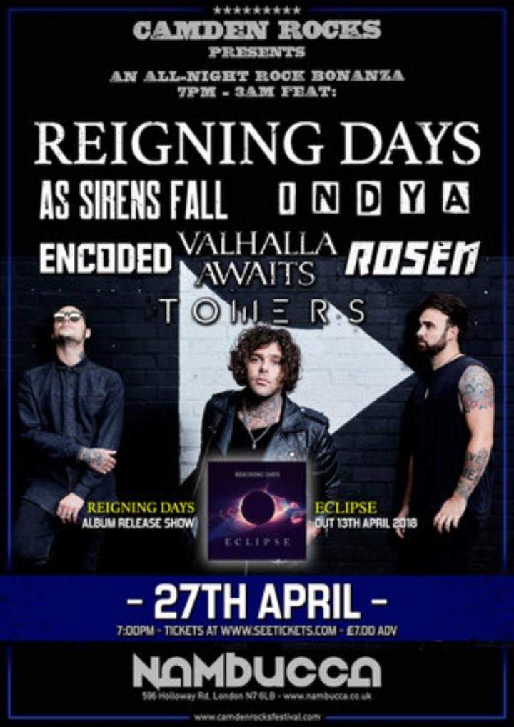Camden Rocks All-Nighter feat. Reigning Days