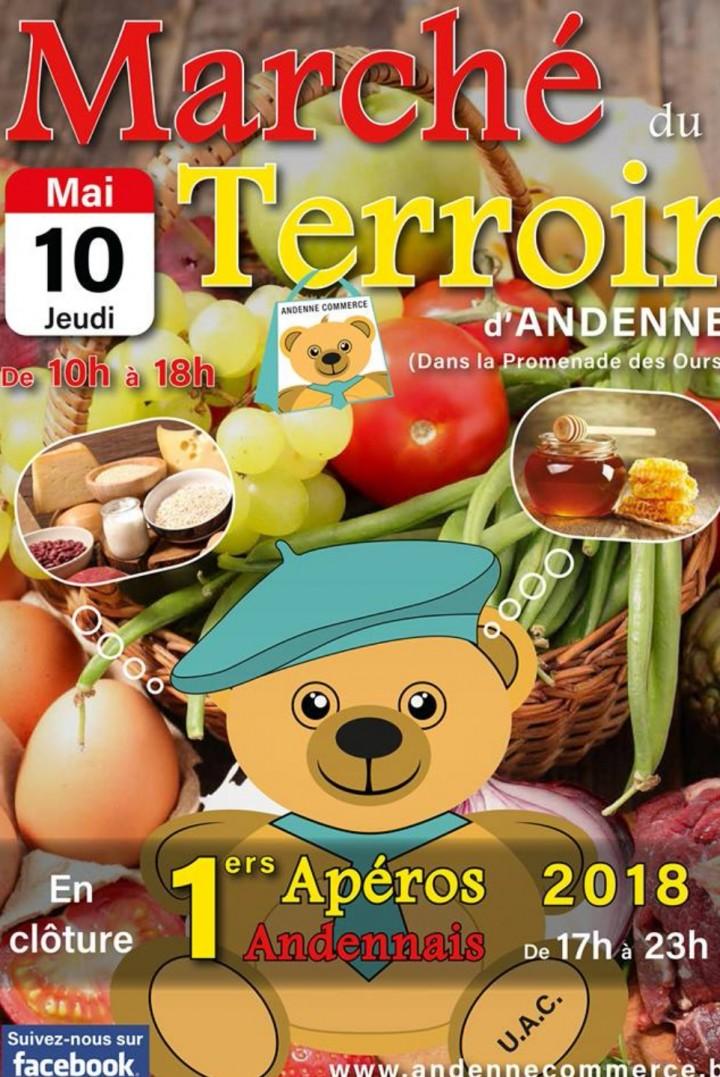 Marché du Terroir D'Andenne - Promenade des O