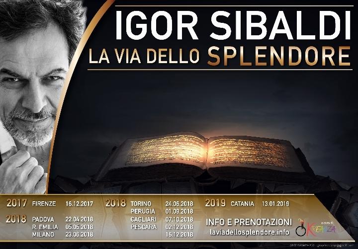 Igor Sibaldi - La Via dello Splendore TORINO