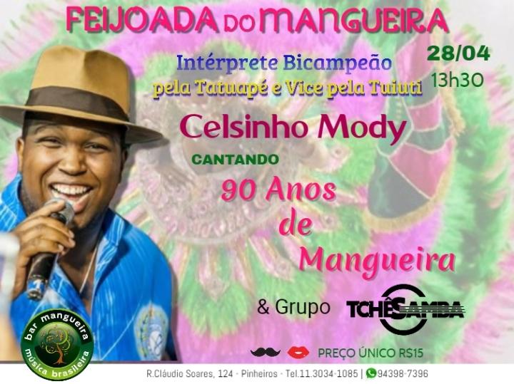 90 anos de Mangueira com Celsinho Mody na Fei