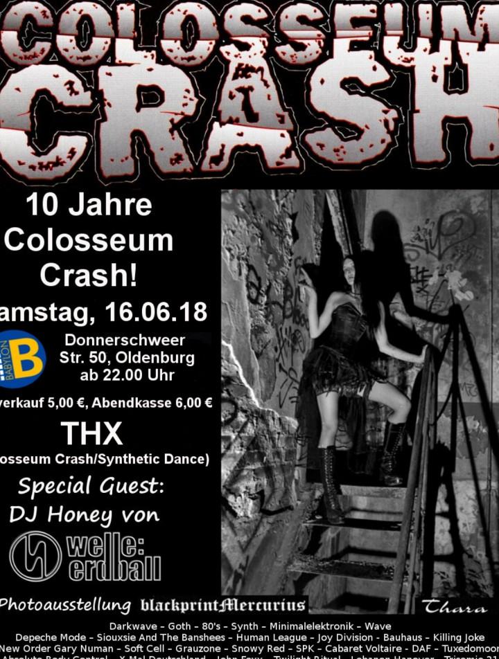 Colosseum Crash Gothic-Wave-EBM SAMSTAG 16.6.