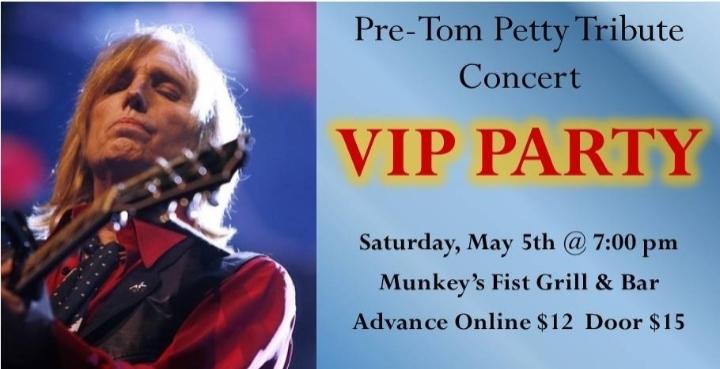 Pre - Tom Petty Tribute Concert VIP Party