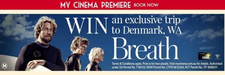 BREATH pre-release at Dromana 3 Drive In
