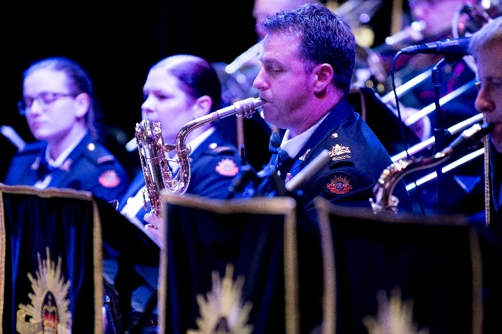 The Band of the Royal Military College presen