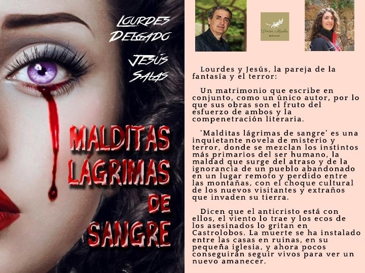 Jesús Salas y Lourdes Delgado presentan 'MALD