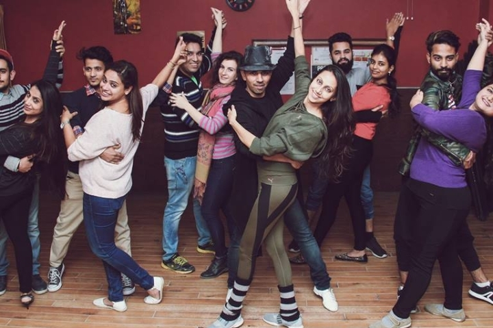 World Dance Day at DLF Place
