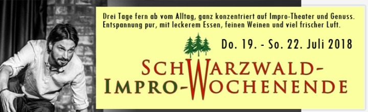 IMPRO-Wochenende im Schwarzwald