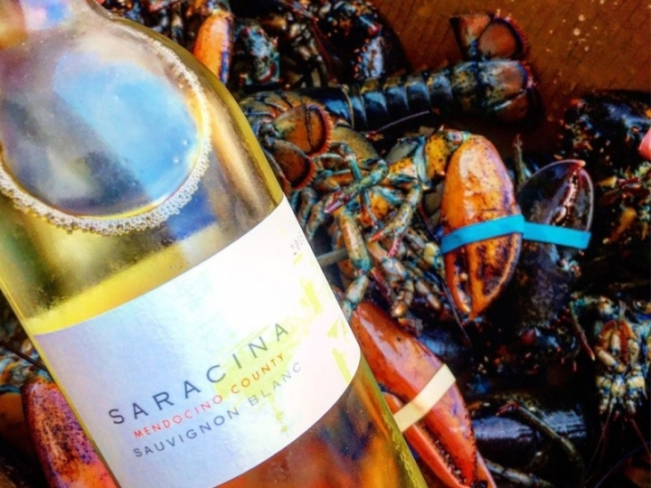 Lobster Lunch at Saracina Vineyards