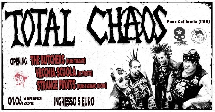 Total Chaos - Punk (USA) + Support
