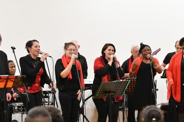 Gospel Crew à l'Usine à Musique