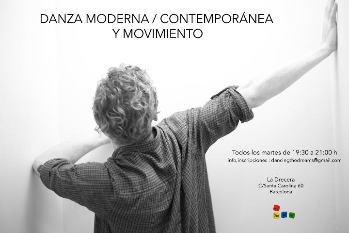 CLASSE: DANZA MODERNA / CONTEMPORÁNEA Y MOVIM