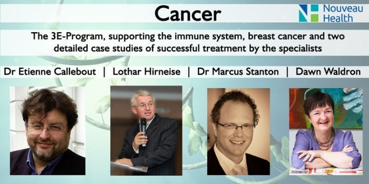 Cancer: The 3E-Program, immune support & brea