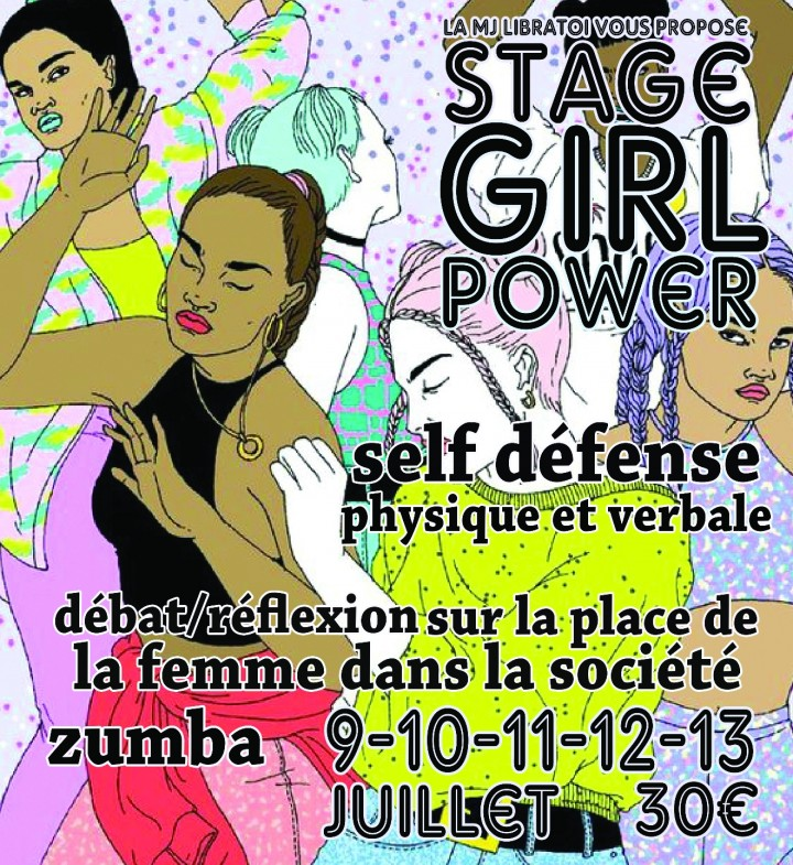 Stage `Girl Power`