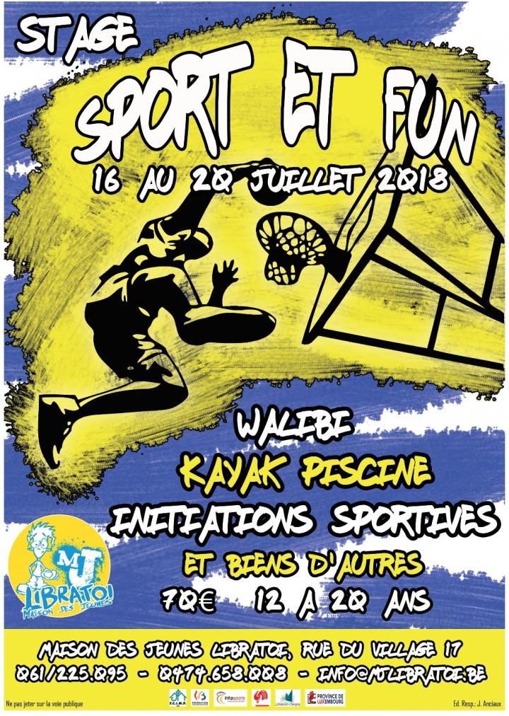 """Stage """"Sport et Fun"""""""