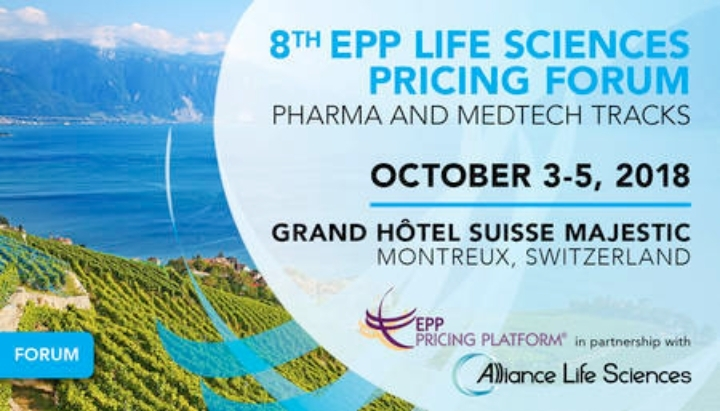 8th EPP Life Sciences Pricing Forum, 2018 Montreux