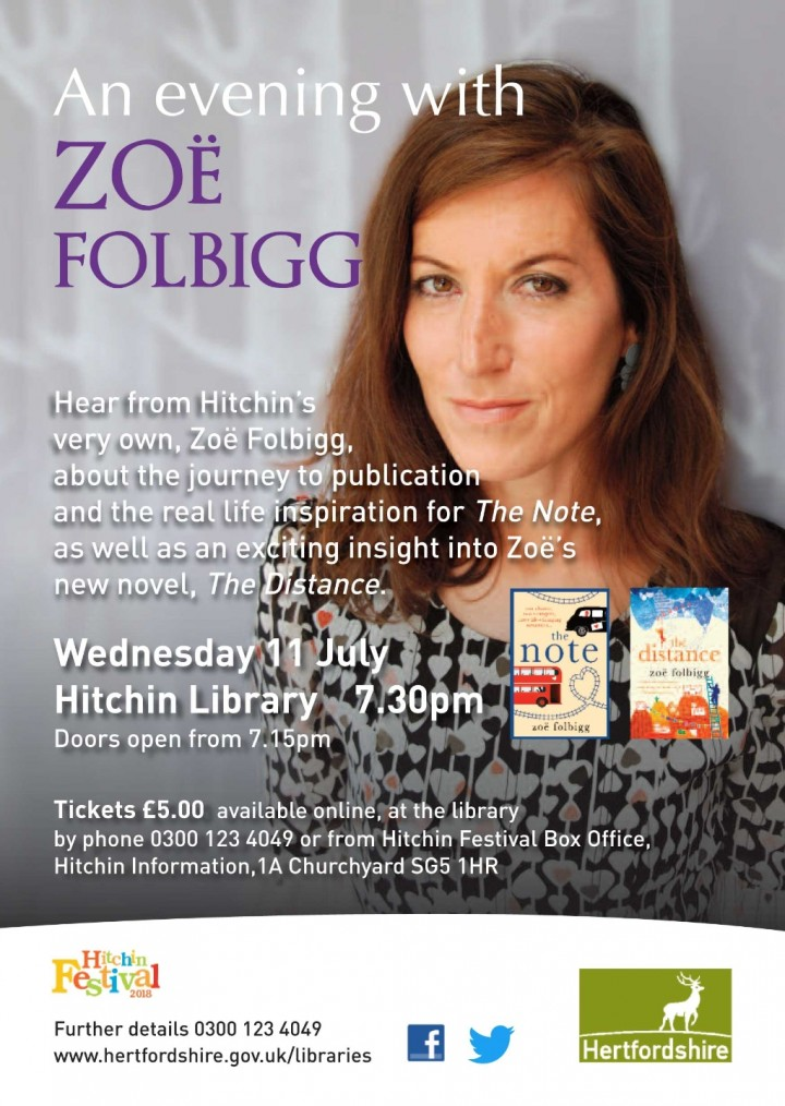 An evening with Zoe Folbigg