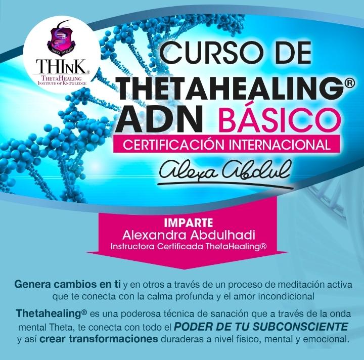 Curso Thetahealing ADN Basico