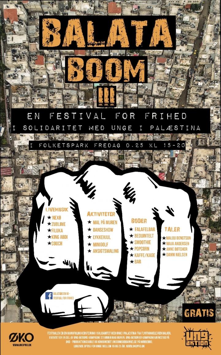 BalataBoom III - Festival For Frihed // Mangf