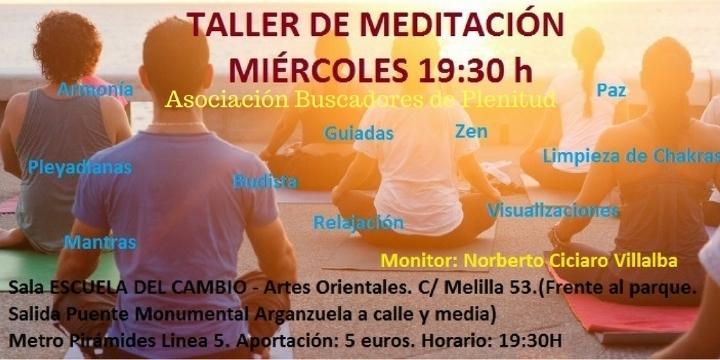 """""""Taller de Meditación"""""""