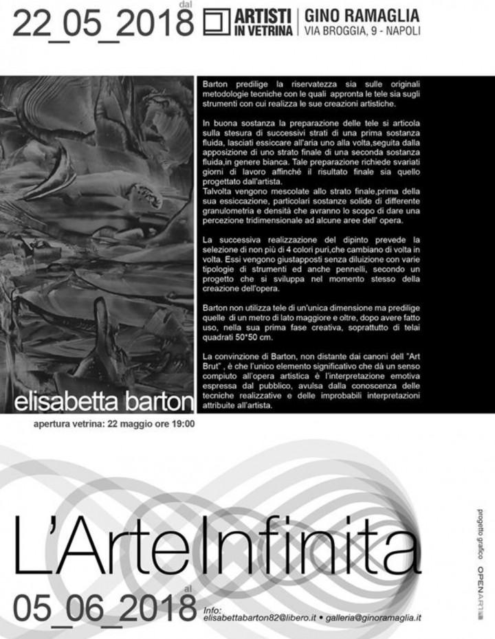 """Elisabetta Barton """" L'Arte Infinita """""""