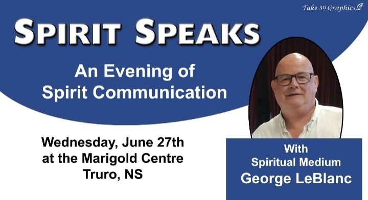 Spirit Speaks - An Evening of Spirit Communic
