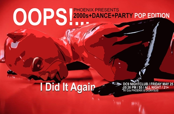 OOPS!...I Did It Again  : 2000s+DANCE+PARTY [