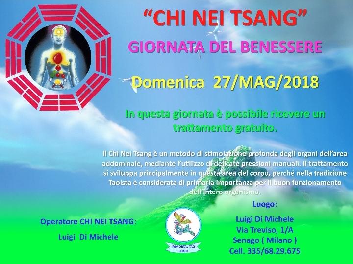 CHI NEI TSANG - Giornata del Benessere