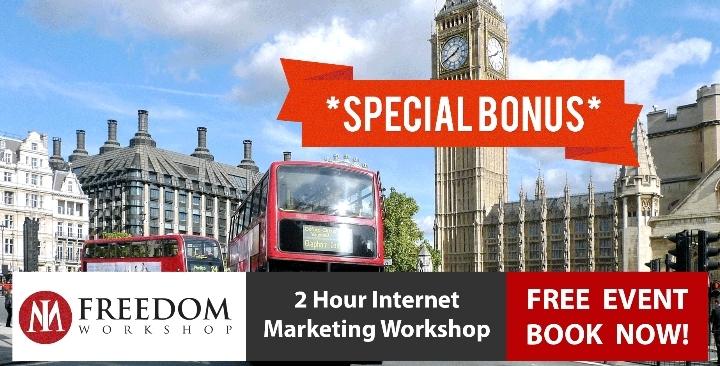 GRAB FREE 2 Hr London Internet Marketing Onli