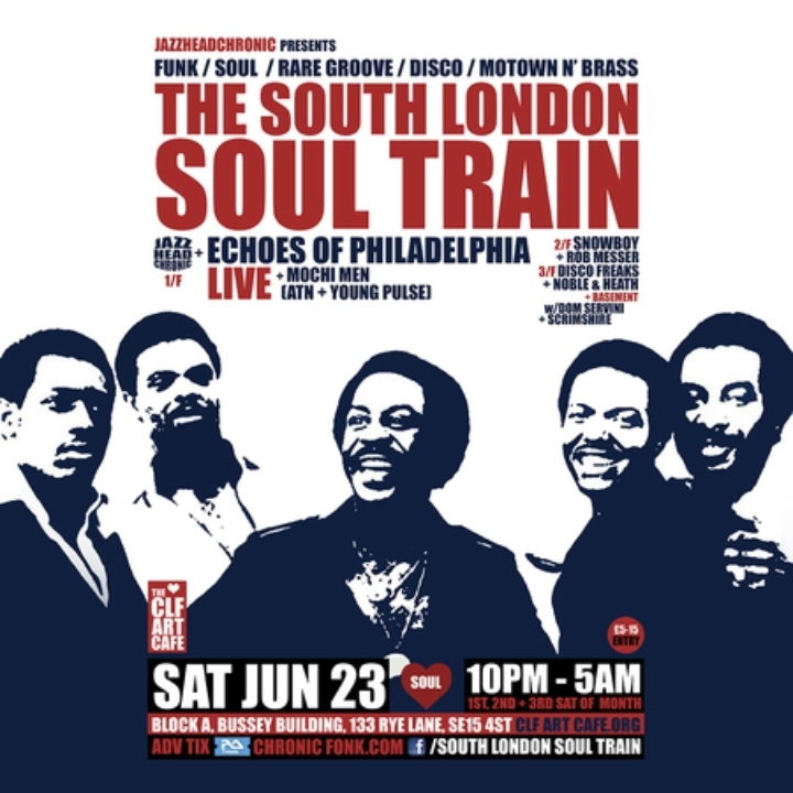 The South London Soul Train with Echoes Of Ph