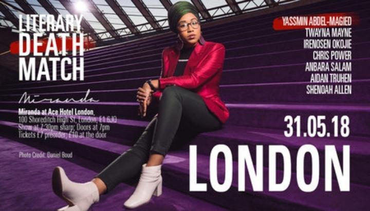 Literary Death Match London feat. Yassmin Abd