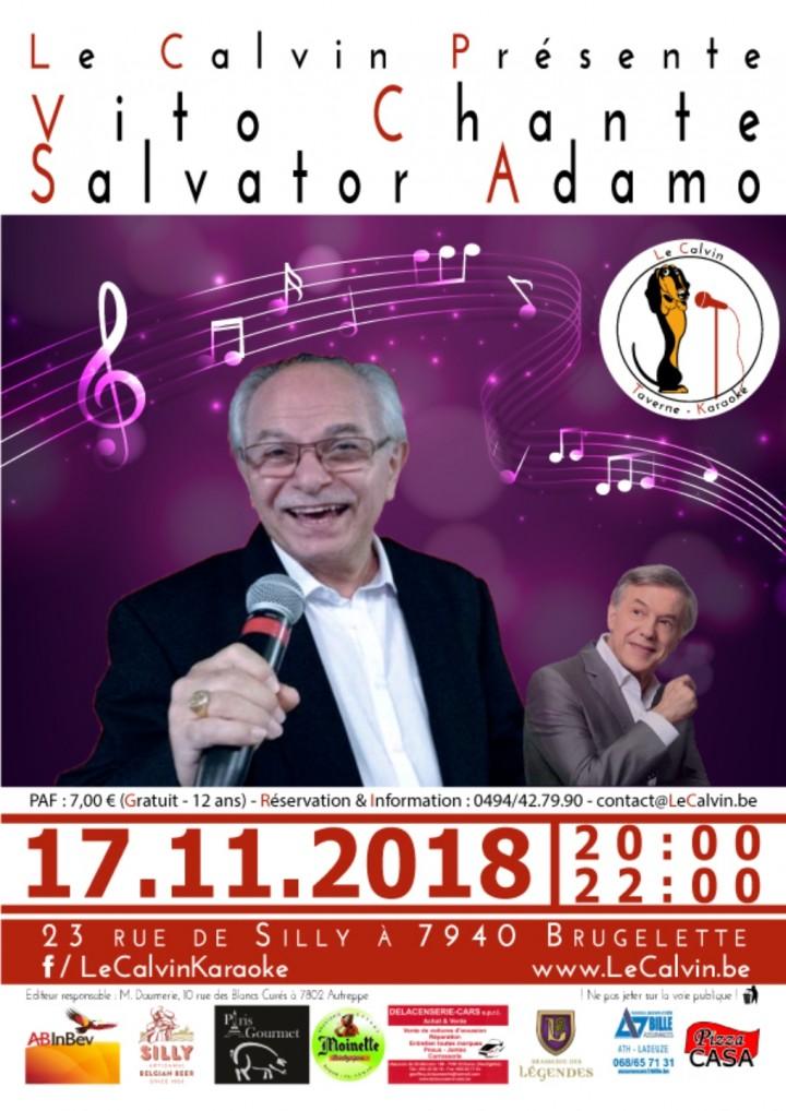 Vito chante Adamo