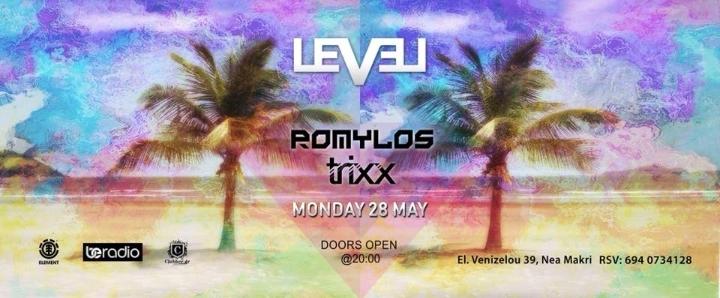 Romylos & Trixx @ Level Club