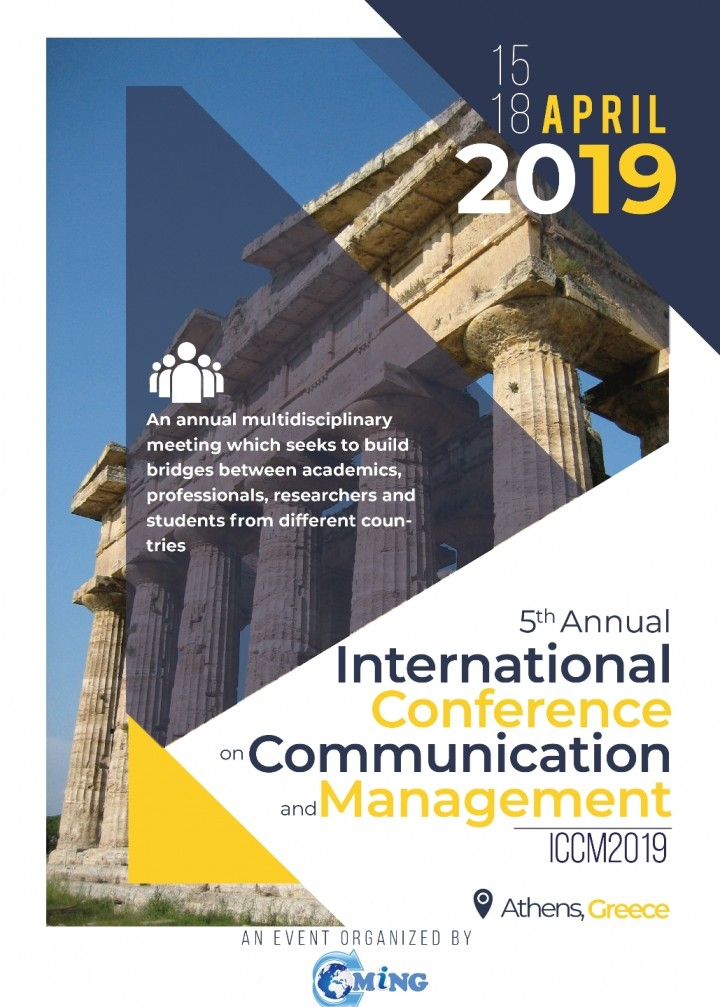 5th Annual International Conference on Commun