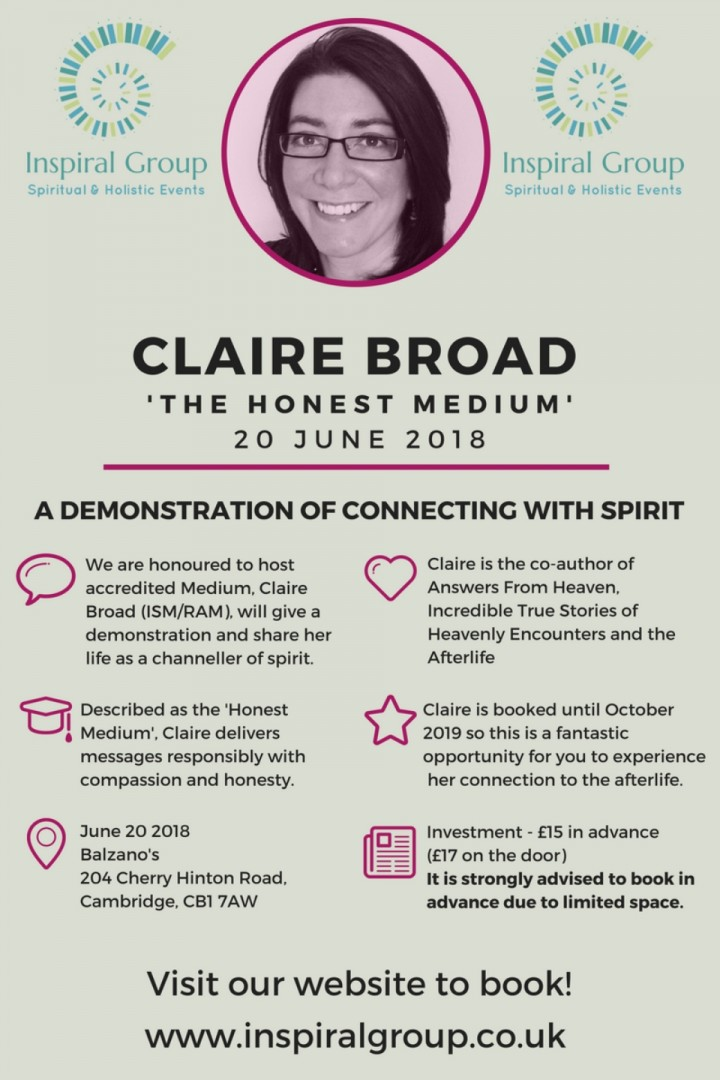 Claire Broad - The Honest Medium