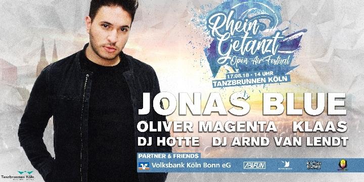 Rheingetanzt Das Open Air Festival mit Jonas