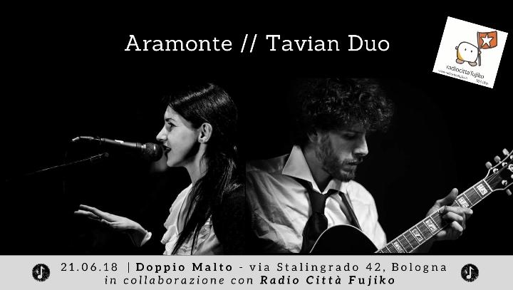 Aramonte // Tavian Duo live al Doppio Malto
