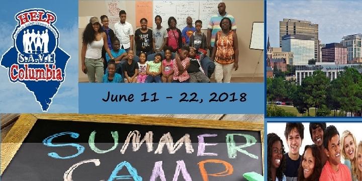 Help S.A.V.E Columbia Summer Camp